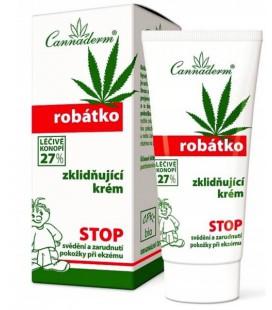Cannaderm Robatko 27% Krem Kojący 50g