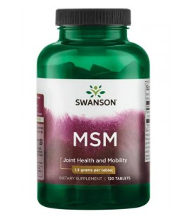 Swanson MSM TruFlex 1500mg 120 tabletek
