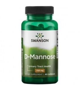 Swanson D-mannoza 700mg 60 kapsułek