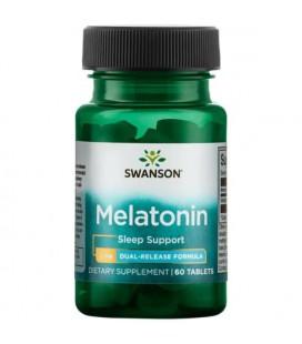 Swanson Ultra Melatonin Dual Release 3mg 60tab