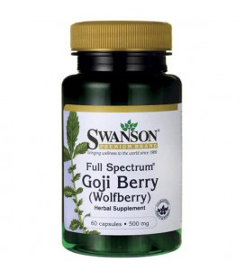Swanson Full Spectrum Goji Berry 500mg 60 caps