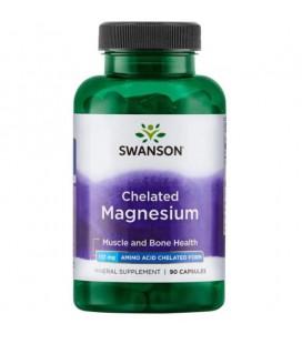 Swanson Chelated Magnesium 133mg 90 kaps.