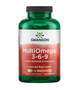 Swanson Multiomega 3-6-9 120 softgels