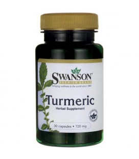 Swanson Turmeric 720mg 30 caps.