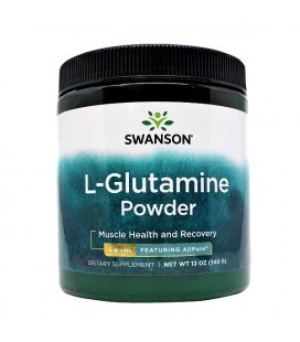 Swanson L-Glutamina Powder 340g