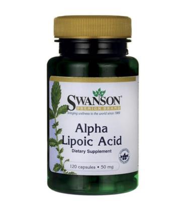 Swanson Alpha Lipoic Acid 50mg 120 caps.