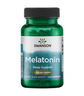 Swanson Melatonina 1mg 120 caps