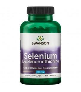 Swanson Selenium L-Selenomethionine 100mcg 300caps