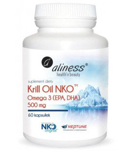 Aliness Krill Oil NKO 500mg 60 Kapsułek