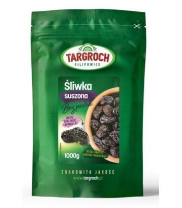 Targroch Śliwka Suszona bez Pestek 1kg