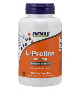 NOW FOODS PROLINE 500MG 120vcaps
