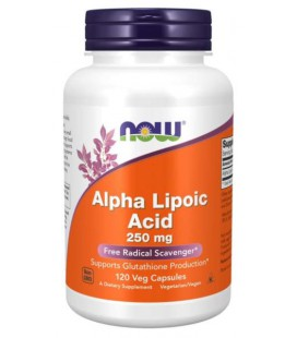 NOW FOODS ALPHA LIPOIC ACID 250mg 120 vcaps
