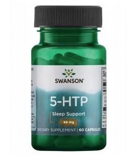 Swanson 5-HTP 50mg 60 kapsułek