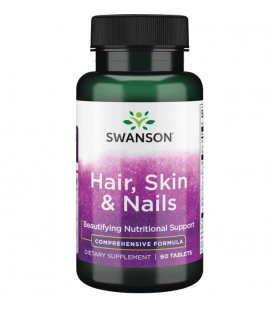Swanson Hair Skin Nails 60 Tabletek