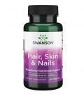 Swanson Hair Skin Nails 60 Tabletek
