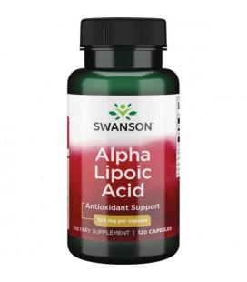 Swanson Alpha Lipoic Acid 100mg 120 caps