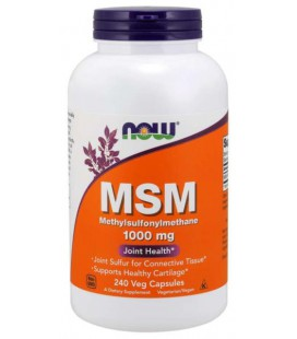 NOW FOODS M.S.M. 1000MG 240VCAPS