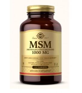 Solgar MSM 1000mg 120 tabletek
