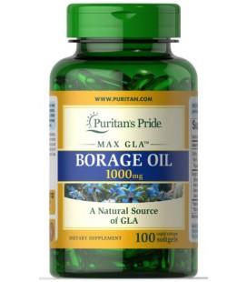Puritans Pride Borage Oil 1000mg 100softgels