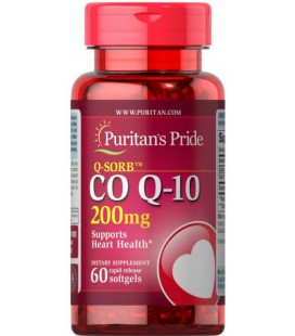 Puritans Pride Q-SORB Co Q-10 200mg 60softgels