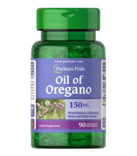 Puritans Pride Oil of Oregano 150mg 90softgels