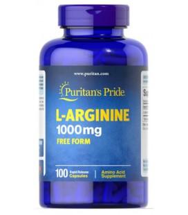 Puritans Pride L-Arginine 1000mg 100caps