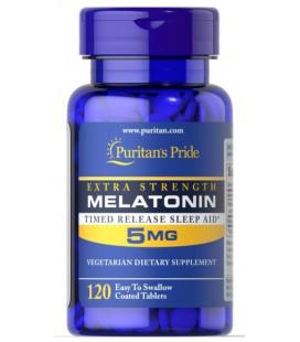Puritans Pride ExtraStrength Melatonin 5mg 120tabl