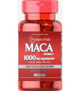 Puritans Pride Maca 1000mg Exotic Herb Men 60caps