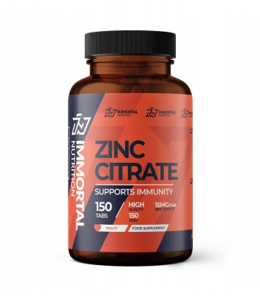Immortal Zinc Citrate CYNK 150 Tabletek