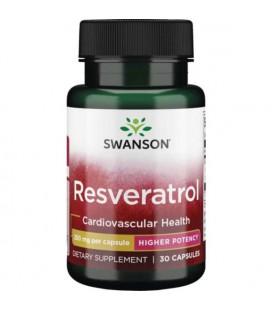Swanson Ultra Resveratrol 250mg 30 kapsułek