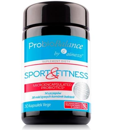 Aliness ProbioBalance Sport & Fitness Balance 30mld 30 VKaps