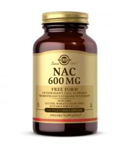Solgar NAC 600mg 120 kapsułek
