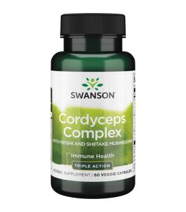 Swanson Cordyceps Complex 60 vcaps.