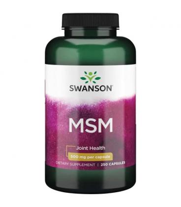 Swanson MSM 500mg 250 kapsułek