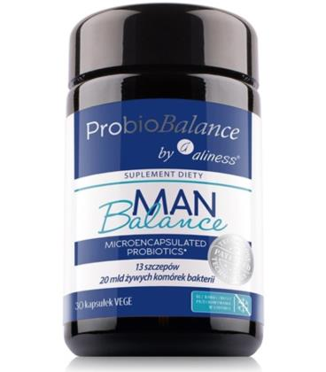 Aliness ProbioBALANCE Man Balance 20mld 30 VKaps