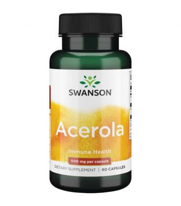 Swanson Acerola 500mg 60kaps