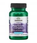 Swanson Triple Magnesium Complex 400mg 30caps