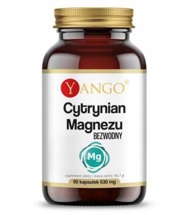 YANGO Cytrynian Magnezu 90 kapsułek