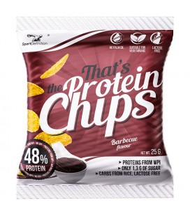 Sport Definition Protein Chips 25g [barbecue]