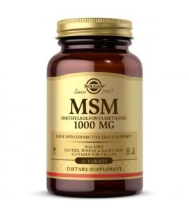 Solgar MSM 1000mg 60tab