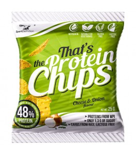 Sport Definition Protein Chips 25g [cebulka z serem]