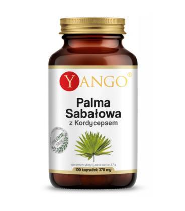 Yango Palma sabałowa z kordycepsem - ekstrakt - 100 kapsułek