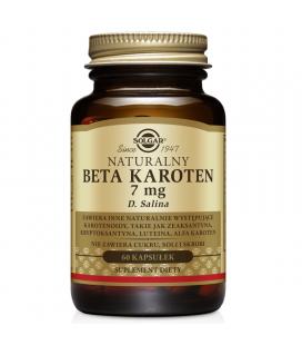 Solgar Naturalny Beta Karoten 60kaps