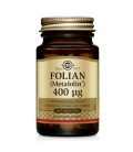 Solgar Folate 666mcg DFE Metafolin 400mcg 50 Tabletek