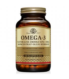 Solgar Omega 3 Źródło EPA i DHA 60 kapsułek