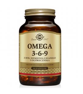 Solgar Omega 3-6-9 60 kapsułek