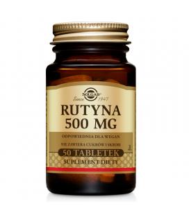 Solgar Rutyna 500 mg - 50 tabletek