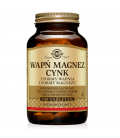 Solgar Wapń Magnez plus Cynk - 100 tabletek