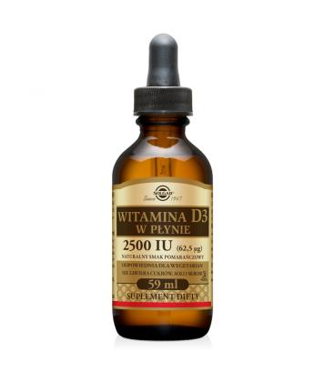 Solgar Liquid Vitamin D3 5000 IU Orange 59ml
