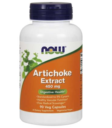 NOW FOODS ARTICHOKE EXTRACT (KARCZOCH) 450 MG 90 VCAPS